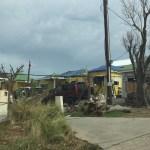 Hurricane Irma damage on St. Barths in 2017