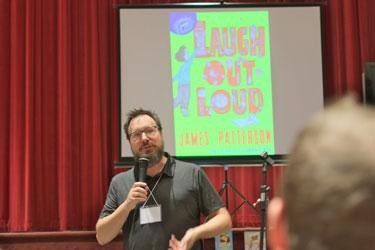 Illustrator Jeffrey Ebbeler gives a program on his books.