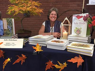 Author, illustrator, and photographer Julie Zickefoose