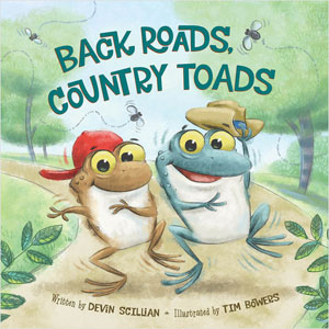 Book Cover: Back Roads Country Toads