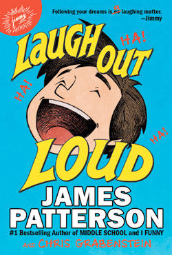 Book cover- Laugh Out Loud