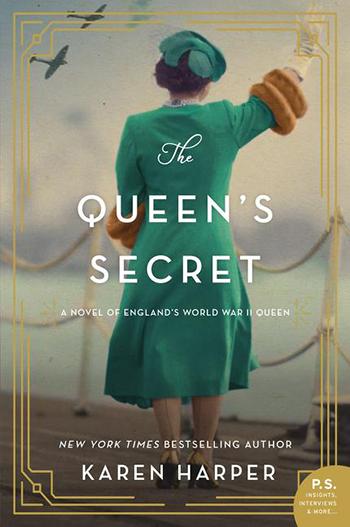 Book Cover - The Queen's Secret