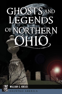 Book cover- Ghosts and Legends of Northern Ohio