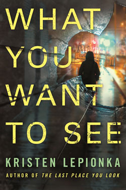 book cover - What you Want to See