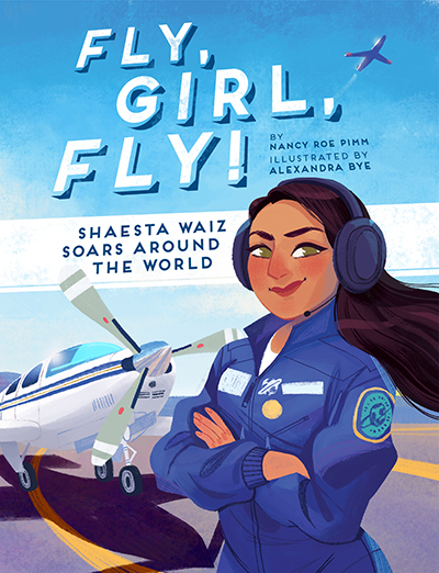 Book Cover- Fly Girl Fly