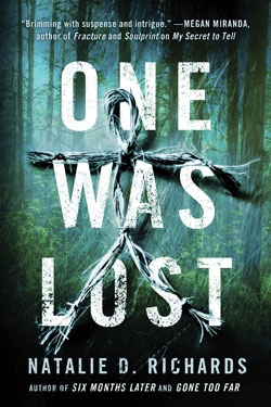 Book Cover- One was Lost