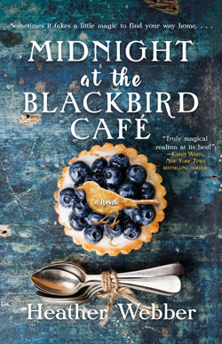 book cover - Midnight at the Blackbird Cafe