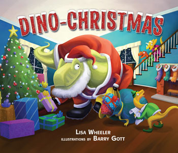 book cover Dino Christmas