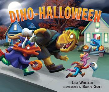 book cover Dino Halloween