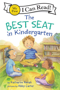 book cover The Best Seat in Kindergarten