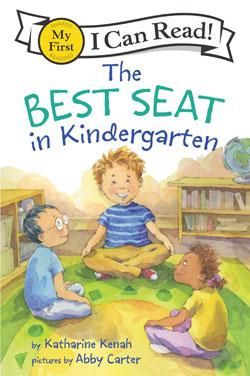 book cover The Best Seat in Kindergarten