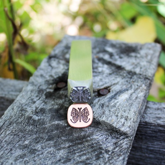 Butterfly Jewelry Stamp Beauty Shot