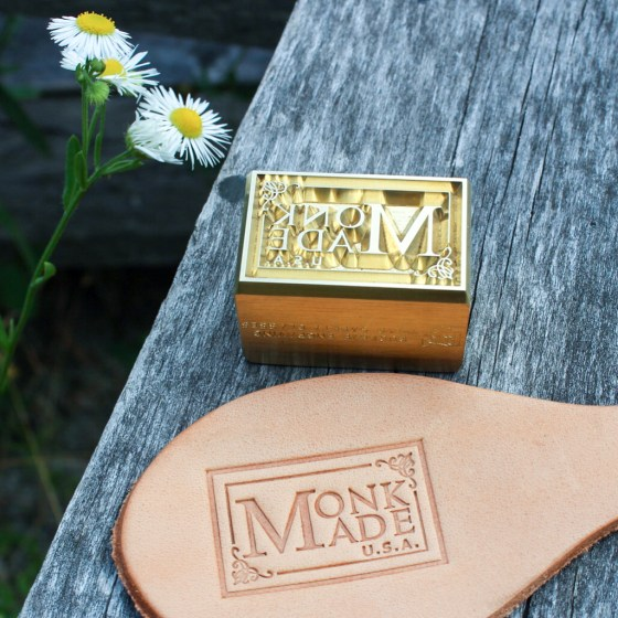 Monk Strap Leather Stamp