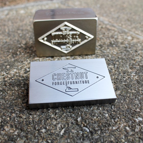 Chestnut Forge and Furniture Press Style Stamp