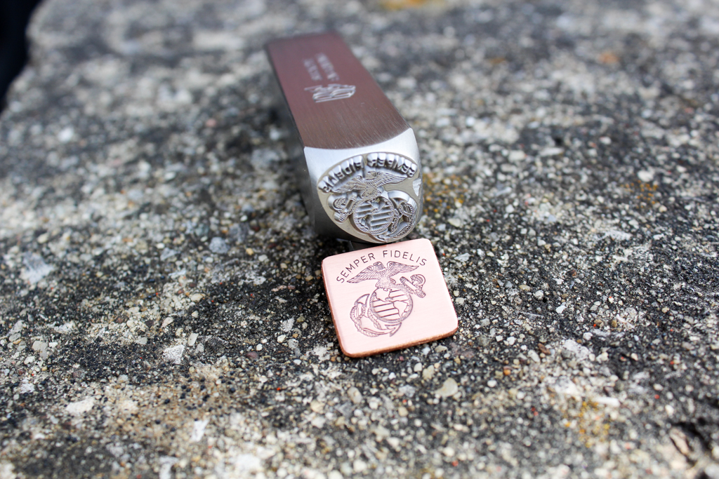 Semper Fi Jewelry Stamp custom made by Buckeye Engraving