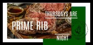 Thursday Night Prime Rib