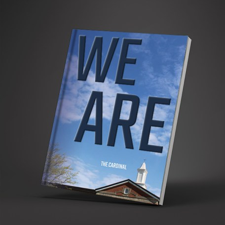 WE ARE Yearbook Cover