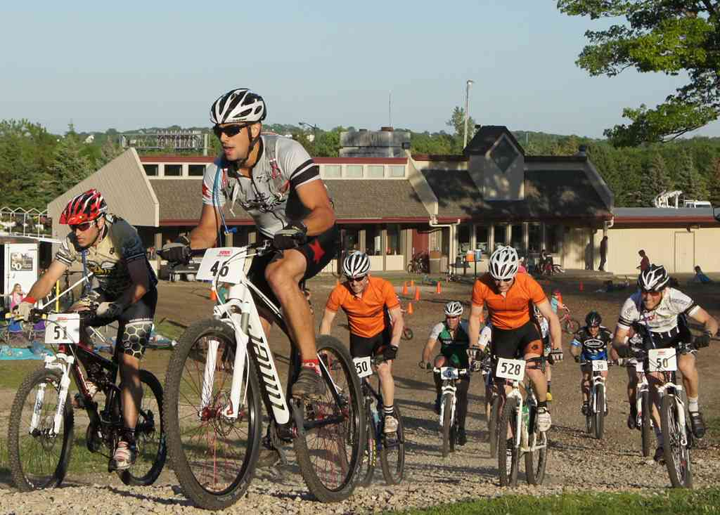 Mountain Biking Racing at Buck Hill