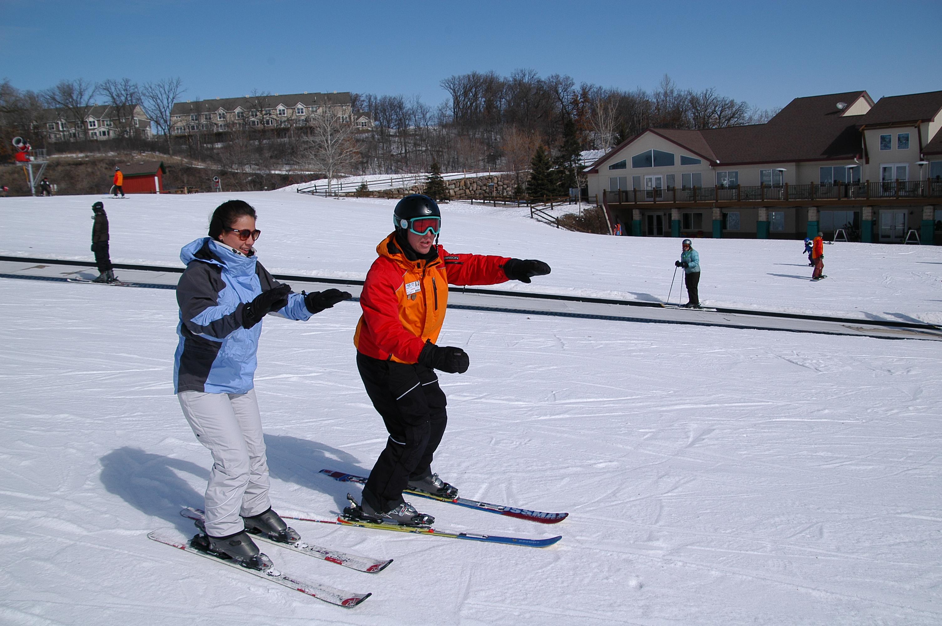 Ski lessons buck hill