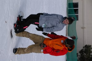 Snowboard lessons at buck hill