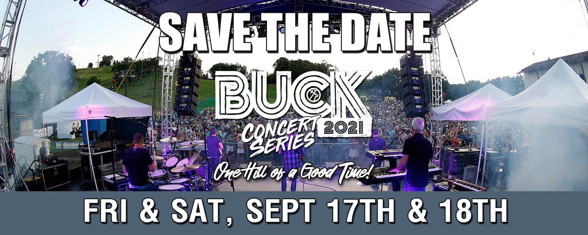 Buck Hill Conert Series 2021 Save the Date