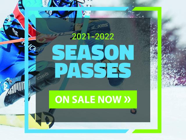 Buck Hill Season Pass Banner
