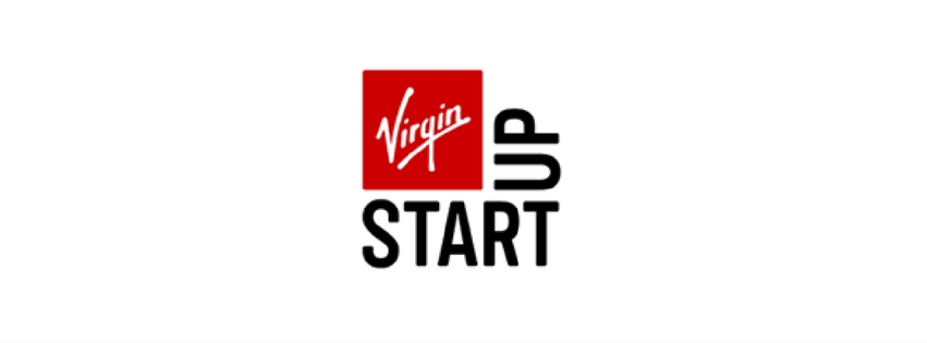 VIRGIN START UP LOGO