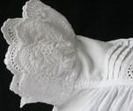 Victorian Christening Dress sleeve detail. www.buckinghamvintage.co.uk