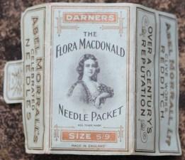 Flora MacDonald Victorian sewing needles