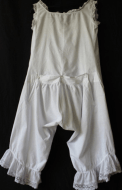 Victorian Combination Bloomers 1890s.  from  www.buckinghamvintage.co.uk
