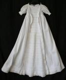 antique christening dress front panel www.buckinghamvintage.co.uk