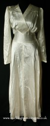 1940's satin wedding dress from www.buckinghamvintage.co.uk