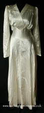 1940's satin wedding dress from www.buckinghamvintage.co.uk