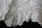 Antique lace close up www.buckinghamvintage.co.uk