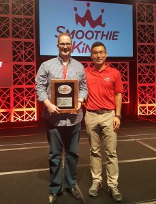 Smoothie King Wins New Location Award