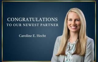 Caroline Hecht Makes Partner