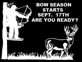 Bow season is almost here