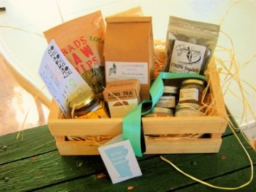 Kitchen Potager Holiday Basket; photo courtesy of KP