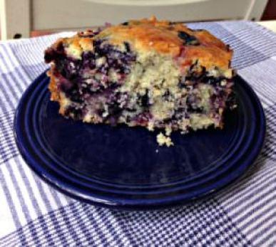 Blueberry Buckle; photo credit L. Goldman