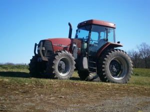 Fulper Farm tractor; photo credit Lynne Goldman