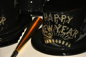 New Year's Eve hat