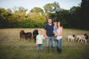 The Layton Family of Hershberger Heritage Farm