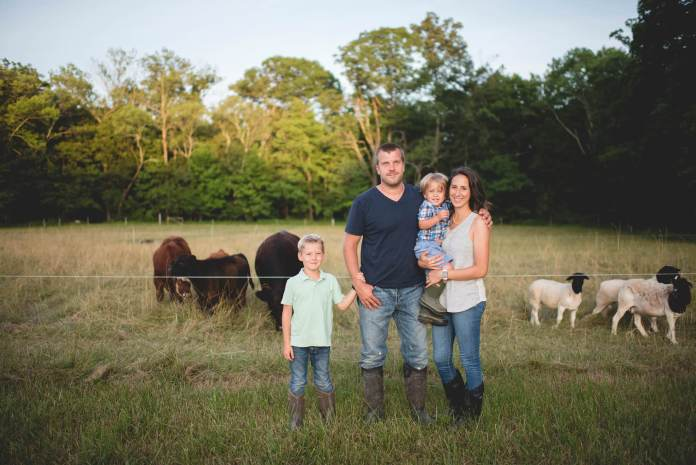 The Layton Family, Hershberger Heritage Farm
