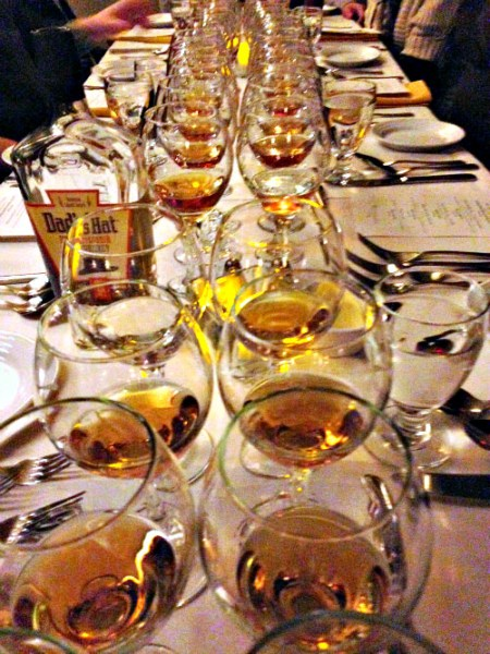 Rye Whisky Dinner at Yardley Inn 2014