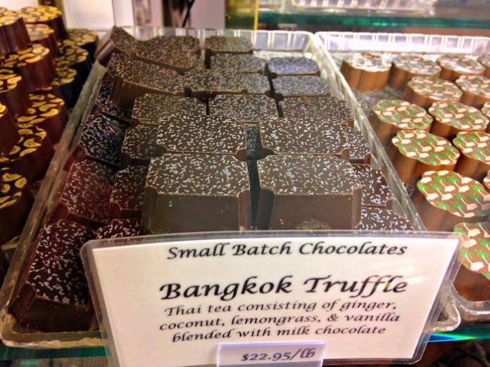 Bangkok Truffle, Pierre's Chocolates