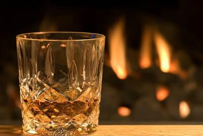 whiskey glass_photo courtesy of the Churchville Inn