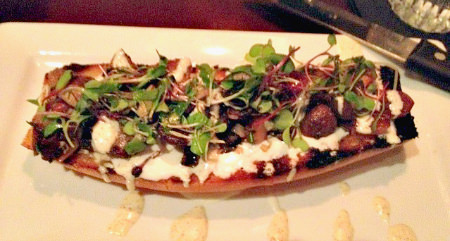 Mushroom Bruschetta-Bowman's Tavern