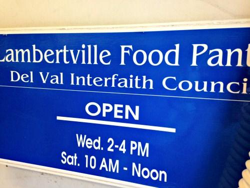 Lambertville Food Pantry
