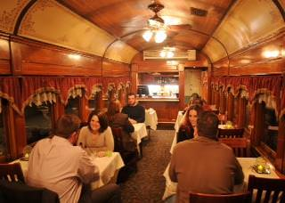 New Hope and Ivyland Railroad dinner train