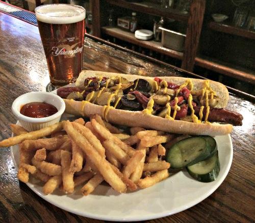 Italian hotdog_photo courtesy Temperance House
